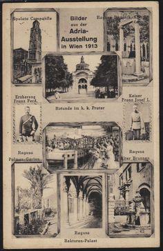 Wien: Adria Ausstellung (1), Prater, Rotunde,Leopoldstadt, 1913, 2. Bezirk | eBay Vintage World Maps, Ebay