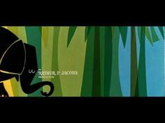 Doctor Dolittle Title Sequence 1967  From the 1967 Rex Harris film, a lovely artistic title sequence that exemplifies mid-century modern shapes and colors. Gorgeous.