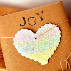Make beautiful rainbow salt dough hearts for ornaments, garland, or gift toppers.
