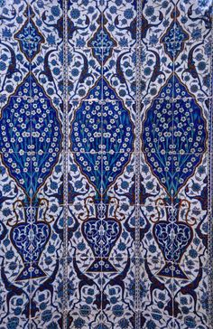 'Detail of Iznik tiles of Rustem Pasa Camii.' by Lonely Planet
