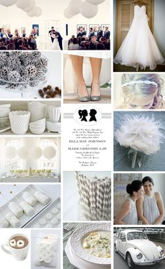 Indoor Wedding on a Budget  After spending last week dreaming about honeymoons, we're getting back on the wedding track with another budget-friendly wedding inspiration board. If you're looking to save money, indoor venues are often much less expensive than outdoor venues and they have a ton of advantages–no worrying about bugs or inclement weather, easy access to electrical plugs and bathrooms, and you can wear whatever gorgeous heels you want without worrying about them sinking into the…