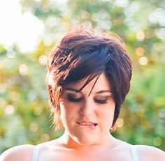 plus size models with short hair - Google Search