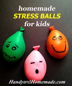 Homemade Stress Balls For Kids
