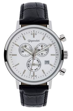 #montre #montredeluxe #luxe #Gigandet #montres #cuir Stylish Watches, Watches For Men, Herren Chronograph, Quartz Watch, Leather, Stuff To Buy, Accessories, Jewelry, Men Watches