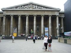 British Museum- home of the glorious Elgin Marbles and Rosetta Stone