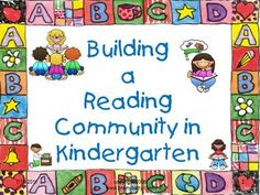 How to start Reader's Workshop in Kindergarten...awesome step by step lessons for the first 10 days!