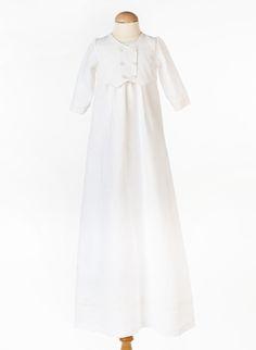 Vår dopklänning Philip brokad, med vacker brokadväst, Christening gown Girls Dresses, Flower Girl Dresses, Christening Gowns, White Dress, Wedding Dresses, Fashion, Dresses Of Girls, Bride Dresses, Moda