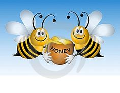 honey bees, label ideas