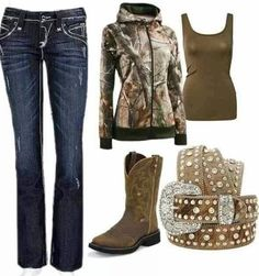 Country outfit.
