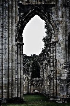 St. Mary's Abbey, York by Matt Keil