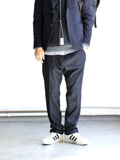 nanamica ナナミカ Stretch Wool Pants SUCF569 ストレッチウールパンツ