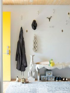Playful details make entryways far more interesting.