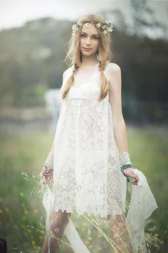 Emily Soto, neo hippie style.