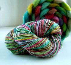 Yarn, Handspun, Merino, Dyeing | Renata Holková | Flickr