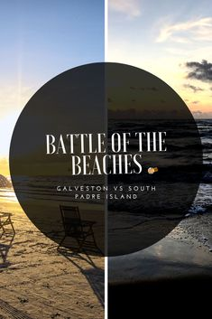 6 hours and 417 miles stand in between two of Texas' most popular beach cities, Galveston and South Padre Island. Both cities have high beach attendance, especially around Spring Break, but which beach is better? South Padre Island, Attendance, Galveston, Spring Break, Travel Tips, Cities, Battle, Texas, Popular