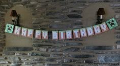 Free Printable Minecraft Party Banner..the working link
