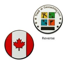 Country Micro Geocoin - Canada - $5.99 : GeocoinStore.com, Serving Geocaching With Geocoins Pathtags Nametags and More Since 2005