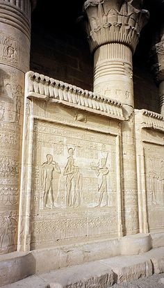 I have to go here one day. My dream. Temple of Hathor, Dendera Temple Complex, Qena, Egypt