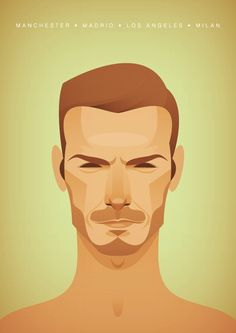 Vintage Illustrations of the the World's Greatest Footballers - My Modern Metropolis