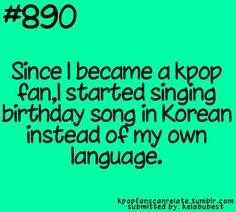 This is true. I wished my fAther  sengil chook ha hapnida instead of haappy birthday
