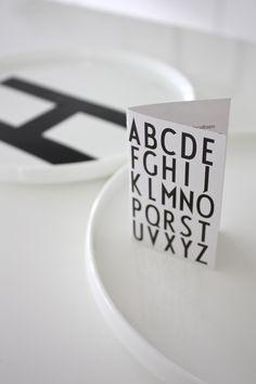 homevialaura | Arne Jacobsen | Design Letters