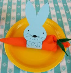 Free printable bunny napkin holder ring for Easter #easter #print skiptomylou.org