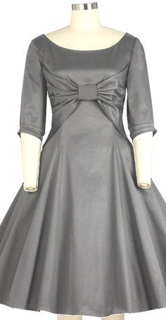 Early 1960s inspired Bow dress by Amber Middaugh