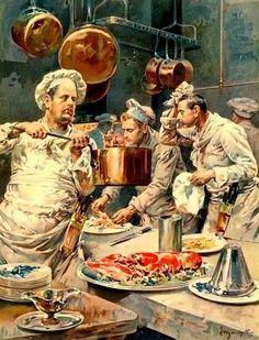 Ludovico Marchetti - En cuisine
