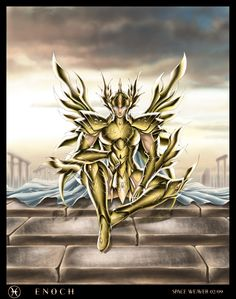 Saint Seiya - Gold Saint Pisces no Enoch by SpaceWeaver