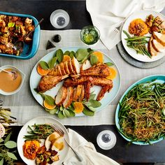 Epicurious 3-Ingredient Thanksgiving Dinner