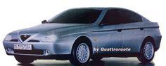 OG   Alfa Romeo 166   Full-size mock-up