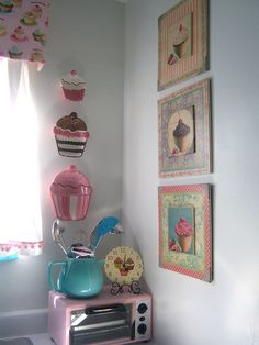 Cozinha Cupcake - Um sonho!