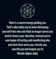 There's a Sacred Energy guiding you ⊰♡⊱
