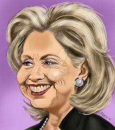 Hillary Clinton by adavis57