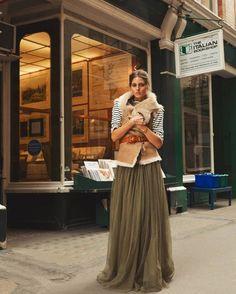 С чем носить длинную юбку осенью и зимой | Красиво шить не запретишь!