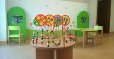 Interactive kids corner in a cultural center