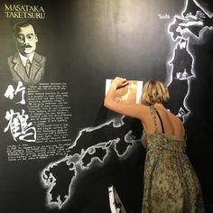 Have you seen the great #artwork made by @emily.hana for @nikkawhiskyeu in Milroys?make sure to visit the #nikka room celebrating #maltofthemonth #soho #london #whiskybar #whiskyshop #whiskygram #japanesewhisky #yoichi #miyagikyo