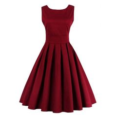 I own this dress in blue and love it