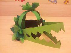Krokodil verjaardagsmuts