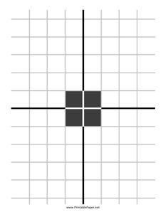 Shooting Range, Shooting Sports, Paper Shooting Targets, Cheap Printing, Target Image, Printable Graph Paper, Range Targets, Target Practice, Black N White Images