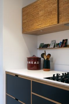 plywood furniture Bespoke Plywood Kitchen by Uncommon Projects Kitchen Interior, New Kitchen, Kitchen Design, Bakery Design, Cafe Design, Kitchen Ideas, Plywood Furniture, Furniture Design, Plywood Floors