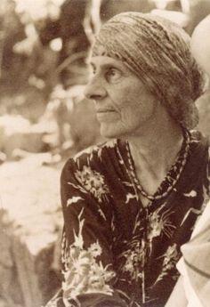 A portrait of Marion