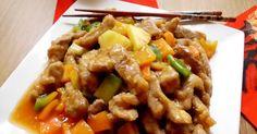 Recette - Porc aigre-doux à l'ananas | Notée 4.3/5