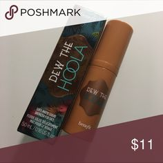 BRAND NEW 2 dew the hoola by benefit minis Mini sized. .16 oz. no trades. One comes in box and the other doesn't. Benefit Makeup Face Primer