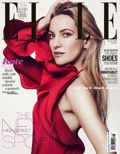 Kate Hudson stars on the cover of Elle UK May 2013. #katehudson