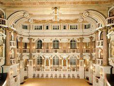 Teatro accademico Bibiena Mantova - Mantua Italy