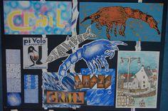 3rd year: Design sea life