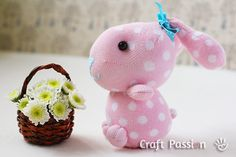 sew sock bunny