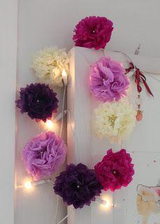 TUSINDFRYD: Blomster Af Silkepapir