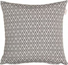 Esprit Kissenhüllen, »Artisan Pixel« (1 Stück), grau, Polyester, grey